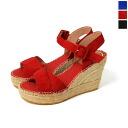 Vidorreta ヴィドレッタ suede アンクルストラップエスパドリーユ Sandals & 5343100903 (3 colors)
