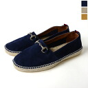 gaimo ガイモ CAMPANARIO/ suede bit espadrille (all three colors)