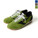 5 / 25 up to 23:59! WALSH Walsh COBRA / velour × leather sneakers (3 colors) (unisex)