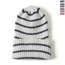 3 / 9 up to 9:59! CASUALS CLIPPER Clipper casual cotton linen border knit Cap-2008c-8 (3 colors) (unisex)