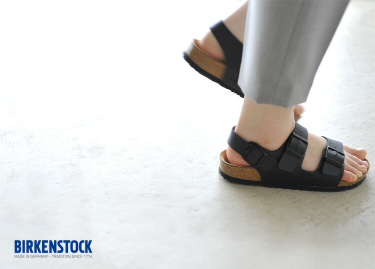 birkenstock milano on feet