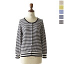 Mao made momade Pima cotton fine striped crew neck Cardigan-511111 b (5 colors) (M) [P25Apr15]
