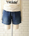 1 / 9 up to 23:59! d.m.g(dmg)15-176c Domingo denim shorts