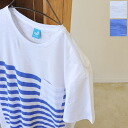11 / 9 up to 9:59! TWOTHIRDS tusas CAMARGO TEE/one pocket border T shirts, 100ks138 (2 colors) (M-L-XL)