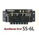 太阳能电池的充电和放电控制器 sunsaver ss-6 l pv
