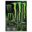 Factory Effex ファクトリーエフェックス Monster Energy 몬스터 에너지 스트리트 스티커 시트 2 FX MONSTER STREET XL/스티커/데 칼/씰/장비/헬멧/자전거/자동차/휴대 전화/여행 가방/통 판/로고/캐릭터/영어/방수/아메리칸