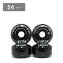 (With stickers) for the cruising CALIFORNIA STREET WHEEL ( California Street ) softwear STREET STREAMER CLEAR black 54 mm skate board ( skateboard ) ( SKATEBOARD )