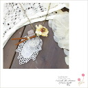 ■ sending ■ small bottles with flower and lace chain necklace-( 3 ) * returned goods cannot be exchanged