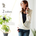 DONEEYU MadeinJapan plenty of thick high quality 2-WAY blouse ☆ 2WAY thick blouse (U-2335)