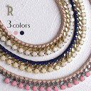 It is impossible of ribbon chain necklace (M-058) ★ shipment ※ returned goods exchange