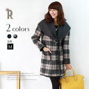 «Advance purchase discount» gracis Made in Japan Tartan check blanket coat (1459436)