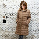 «Advance purchase discount» Cloche 2wayBIG collar down coat (452-84507)