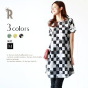 Seasonal Fannie print ☆ Fannie print checker one piece petticoat (Z62106) ★ shipment fs3gm belonging to