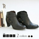 Anticipating autumn boots ☆ leather アンクルベルトブーティ (1829)