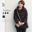 Praise Made in Japan adult feminine coat round collar MIX Boucle jacket coat (34745) fs3gm