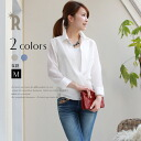 Buyer's select MadeInJapan staple items on a piece of sticking ☆ thick Tencel 2-WAY blouse (U-2505)