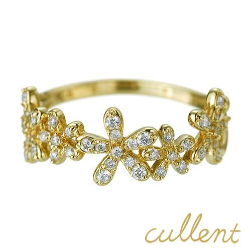 K18 ダイヤモンド リング bouquet
