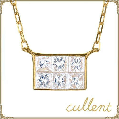 K18 ダイヤモンド ネックレス moment