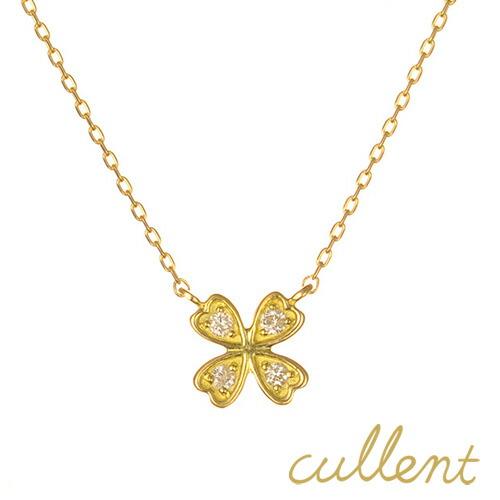 K18 ダイヤモンド ネックレス tender clover
