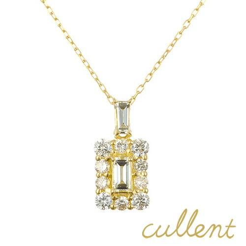 K18 ダイヤモンド ネックレス perfume