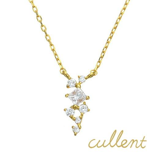 K18 ダイヤモンド ネックレス ornament