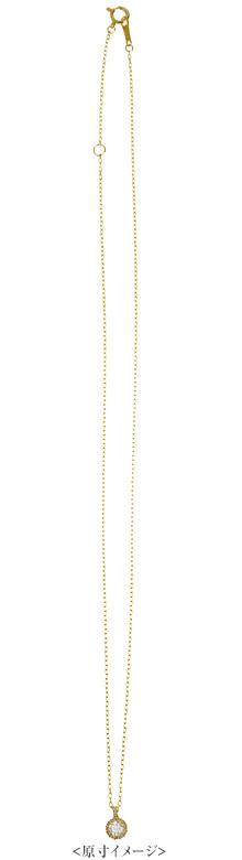 K18 birth stone necklace K18 ダイヤモンド ネックレス cheer
