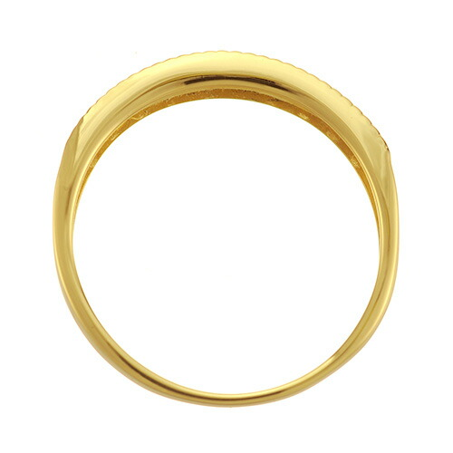 K18 diamond ring angel ray
