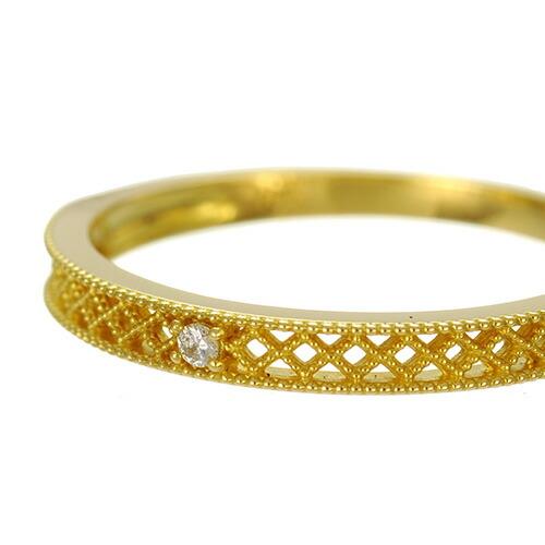 K18 diamond ring cloth