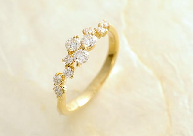 K18 diamond ring prime
