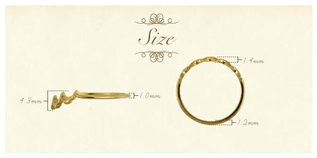 K18 ring glad