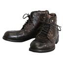 DOLCE GABBANA 12 / 13 AW work boots CA5350 A1809 80051 dark brown Dolce & Gabbana men's shoes