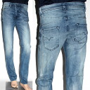 2014 DIESEL stretch jeans DARRON L32 wash blue REGULAR SLIM TAPERED D Zelda Ron 00C1XL 0823X 01 men's new works in the spring and summer