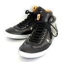 631 ジミーチュウレースアップハイカット VARLEY CLV BLACK SILVER 02P31Aug14 in the spring and summer latest JIMMY CHOO middle cut leather sneakers black star studs 2014