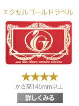 羽毛ふとん 羽毛布団 羽毛フトン ダウン フェザー 日本製 国内製造 国内生産 エクセルゴールドラベル