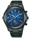 Seiko wired THE BLUE the blue mens watch chronograph blue black AGAW421 [free size]