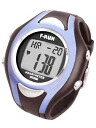 Heart rate monitor watch buzz right now! Compact-watch with a heart rate sensor of high sensitivity. F / F RUN (Efrain)-RUN ハートメーターウォー King heart rate monitor (blue) HM42B