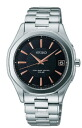 Seiko Dolce & exe line pair model mens watch solar radio watch black SADZ073 [free size]