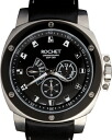 Rose watch ( ROCHET ) watch chronograph leather belt W306015
