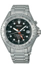 Seiko ProspEx watch SEIKO PROSPEX land master mens KINETIC SBDW005 [size adjustment free]