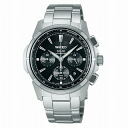 SEIKO wired watch men clock solar chronograph AGAD028