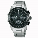 SEIKO wired watch men clock solar chronograph AGAD036