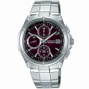 SEIKO wired watch men clock chronograph AGAV006