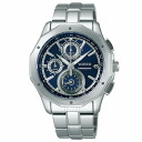 SEIKO wired watch men clock chronograph AGAW411