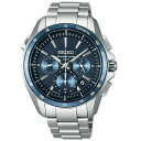 SEIKO Brights / solar electric wave correction / chronograph / men watch /SAGA161