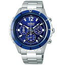 SEIKO wired watch men THE BLUE the blue chronograph AGAW428