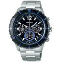 SEIKO wired watch men THE BLUE the blue chronograph AGAW429