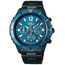 SEIKO wired watch men THE BLUE the blue chronograph AGAW430