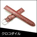 Watch belt watch band crocodile watch band BAMBI mens 17 mm Brown watch for Bambi watch belt Bambi watch band