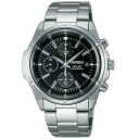 SEIKO wired solar watch men chronograph new standard model AGAD040