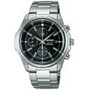 SEIKO wired solar watch men chronograph new standard model AGAD040